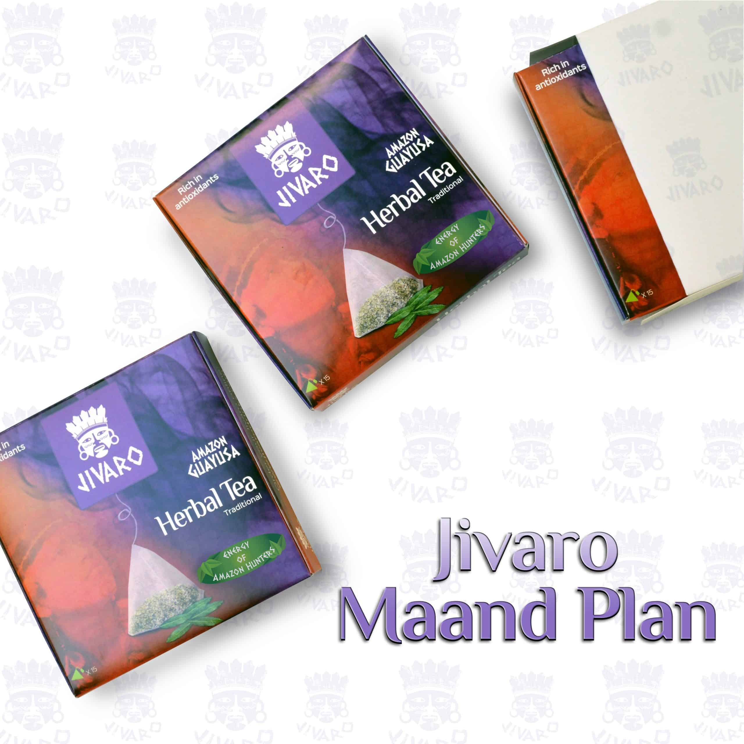 Jivaro guayusa thee maand plan